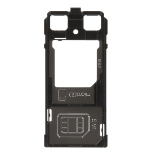 OEM SIM1 + SIM2/Micro SD Card Tray Holder Replacement for Sony Xperia XZ