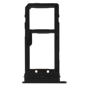 OEM SIM MicroSD Card Tray Holder Replace Part for HTC U11 Plus - Black
