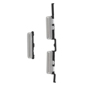 OEM Side Key Set Power and Volume Buttons Part for Samsung Galaxy Samsung Galaxy J5 (2016) J510  / Galaxy J7 (2016) J710 - Silver