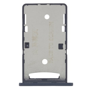 OEM Dual SIM Micro SD Card Tray Holder Part for Xiaomi Redmi 4a - Black
