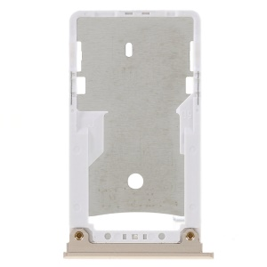 OEM Dual SIM MicroSD Card Tray Slot Holder Part for Xiaomi Mi Max 2 - Gold