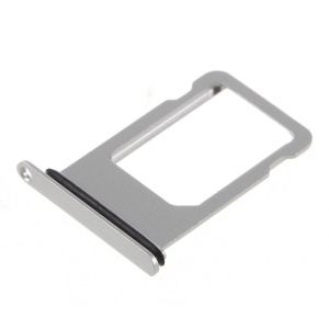 OEM SIM MicroSD Card Tray Slot for iPhone 8 4.7 inch - Silver