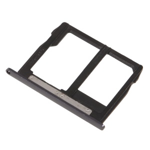 OEM SIM + Micro SD Card Tray Holder Part for Motorola Moto G5S Plus - Grey