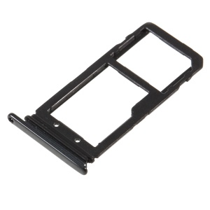 OEM SIM/Micro SD Card Tray Holder Part for HTC U11 Life - Black