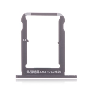 OEM Dual SIM Card Tray Slot Part for Xiaomi Mi Mix 2s - Black