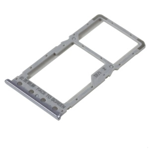 OEM Dual SIM Micro SD Card Tray Holder Replacement for Xiaomi Redmi 6 / Redmi 6A - Grey