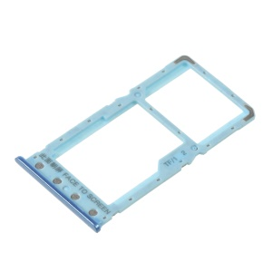 OEM Dual SIM Micro SD Card Tray Holder Spare Part for Xiaomi Redmi 6 / Redmi 6A - Blue