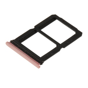 OEM Dual SIM Card Tray Slot Part for OnePlus 6 - Rose Gold