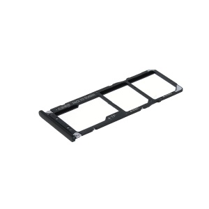 OEM Dual SIM Micro SD Card Tray Holder Replacement for Xiaomi Mi A2 Lite / Redmi 6 Pro - Black