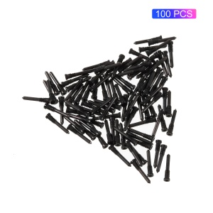 100PCS/Pack OEM Dock Connector Screws Part for iPhone XS 5.8 inch - Black