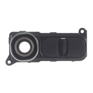 OEM Camera Lens Ring Cover with Power Switch Button for LG G4 H815 - Grey