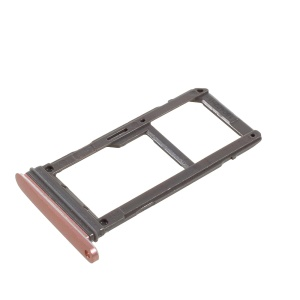 OEM SIM Card Tray Holder Slot for Samsung Galaxy S7 edge G935 - Rose Gold Color