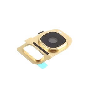 OEM Replacement Camera Lens Ring Cover for Samsung Galaxy S7 G930 / S7 edge G935 - Gold Color