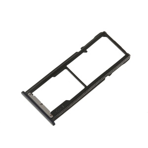 OEM Dual SIM Card Tray Holder Replace Part for Asus Zenfone 4 Selfie ZD553KL / 4 Selfie ZB553KL - Black