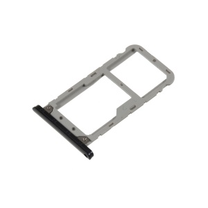 OEM Dual SIM Micro SD Card Tray Holder Replacement for Asus Zenfone Live ZB501KL - Black