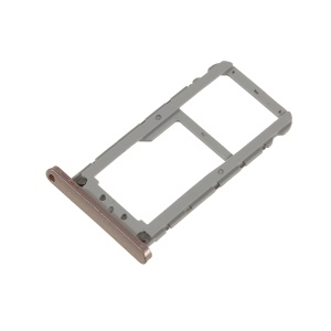 OEM Dual SIM Micro SD Card Tray Holder Replacement for Asus Zenfone Live ZB501KL - Rose Gold