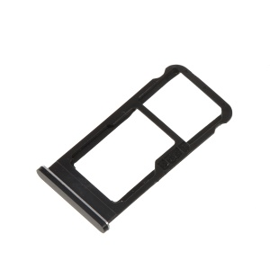 OEM Dual SIM Card Tray Holder Replace Part for Nokia 6.1 (5.5-inch) / Nokia 6 (2018) - Black