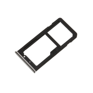 OEM Dual SIM Card Tray Holder Replace Part for Nokia 6 (2017) - Grey