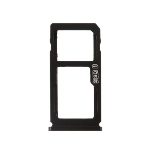 OEM Dual SIM Micro SD Card Tray Holder Replacement for Nokia 8 - Black