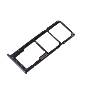 OEM SIM MicroSD Card Tray Holder Spare Part for Asus Zenfone Max Pro (M2) ZB631KL - Black