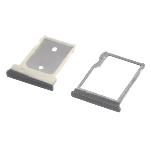 OEM SIM + Micro SD Card Tray Holder for HTC One M9 - Grey