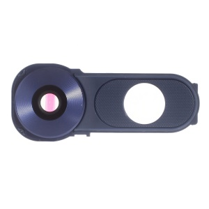 OEM Camera Lens Ring Cover with Power Switch Button Part for LG V10 - Blue