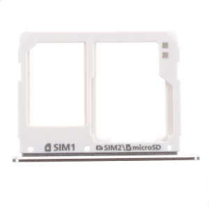 OEM SIM/Micro SD Card Tray Holder Replacement for Samsung Galaxy A3 A310/A5 A510/A7 A710 - Grey