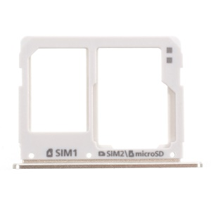 OEM SIM/Micro SD Card Tray Holder Replacement for Samsung Galaxy A3 A310/A5 A510/A7 A710 - Gold
