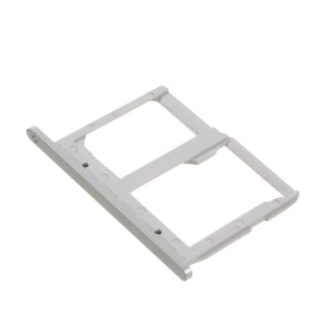 OEM for LG G5 SIM/Micro SD Card Tray Holder Replacement Part - Silver