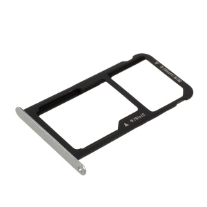 OEM SIM Card Tray Holder Slot Replacement for Huawei P9 Lite - Silver