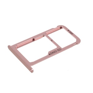 OEM for Huawei P9 Matte Dual SIM MicroSD Card Tray Slot Holder - Rose Gold
