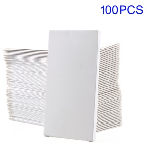 100Pcs/Lot White Paper Battery Package Box for iPhone 7 6s 6 4.7 inch Batteries