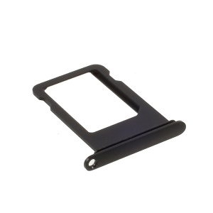 OEM SIM Card Tray Holder Replacement for iPhone 7 (No IMEI Code) - Black