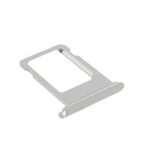 OEM SIM Card Tray Holder Slot for iPhone 7 (No IMEI Code) - Silver Color