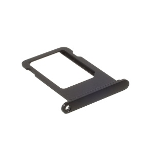 OEM SIM Card Tray Holder Slot for iPhone 7 Plus (No IMEI Code) - Black