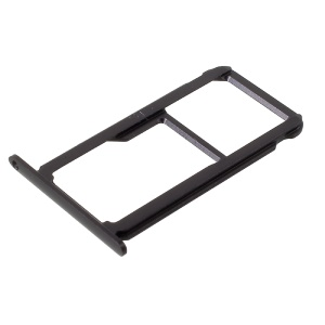 OEM Dual SIM MicroSD Card Tray Slot Holder for Huawei Honor 8 - Black