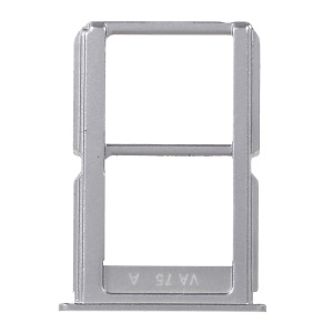 OEM Dual SIM Card Tray Holder Slot Replacement for OnePlus 3 - Silver Color