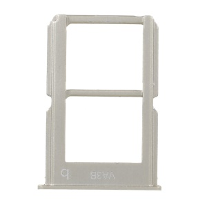 OEM SIM Card Tray Holder two Slots Part for OnePlus 3 - Gold Color