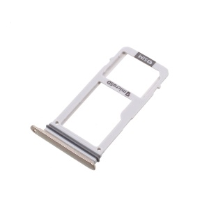 SIM + Micro SD Card Tray Holder OEM Part for Samsung Galaxy A3 (2017) A320 - Gold Color