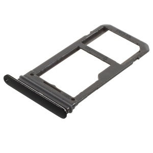 OEM SIM MicroSD Card Tray Slot Holder Part for Samsung Galaxy S8 G950 Single SIM Version - Black