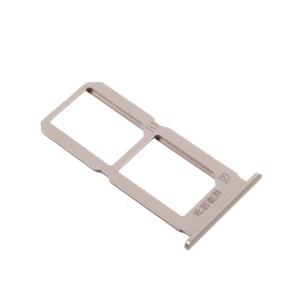 For vivo X7 OEM SIM/Micro SD Card Tray Holder Replacement - Gold Color