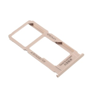 For Oppo F1 Plus / R9 OEM SIM/Micro SD Card Tray Holder Replacement - Gold Color
