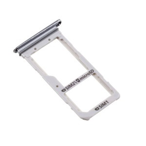 OEM Dual SIM MicroSD Card Tray Holder Slot for Samsung Galaxy S7 edge G935 - Grey
