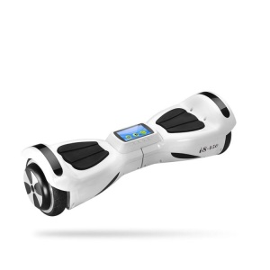 i8-450 Three-mode Two-wheels Self-balancing Intelligent Learning Scooters for Kids - White / US Plug