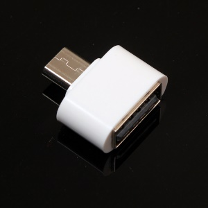 USB Female to Micro USB Male Mini OTG Converter for Samsung Galaxy S4/Note II Xiaomi 3