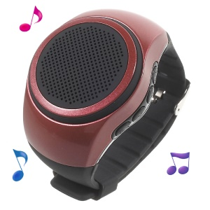 B20 Smart Watch Outdoor Sports Wireless Bluetooth WristWatch with Microphone - Red