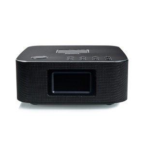 REMAX H3C Bluetooth Speaker Phone Holder LCD Display with Remote Controller - Black