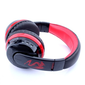 VYKON MX666 Over-ear Bluetooth Headset Headphone for iPhone Samsung - Red