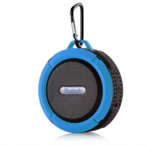 C6 Portable Bluetooth Speaker Mini Wireless Bluetooth Outdoor Speaker with TF Card Slot - Blue