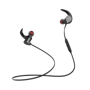 AWEI AK3 Sports Wireless Bluetooth Headphones Stereo Earphones with Microphone - Black